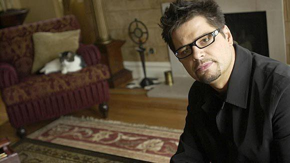 "Erich ""Mancow"" Muller in his Lincoln Park condo in 2005."