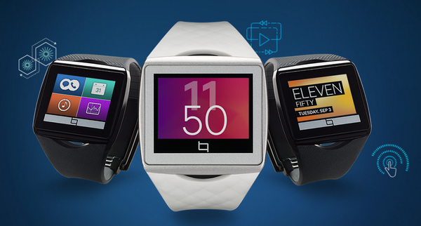 Qualcomm's Toq smartwatch will go on sale through a website on Dec. 2.