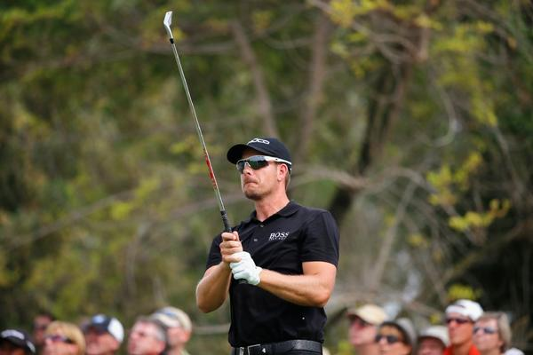 Henrik Stenson's goal is to be the top-ranked golfer in the world.
