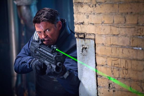 "Karl Urban plays a part-human, part-machine cop in ""Almost Human."""
