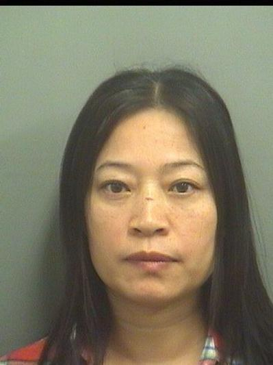 Hong Tang, 49, of Riviera Beach, was arrested Nov. 15, 2013 after a Palm Beach County Sheriff's Office investigation of a North Palm Beach massage establishment. Tang faces prostitution charges.