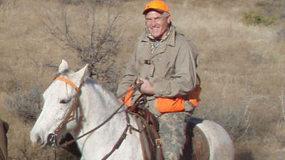 Former Colts offensive lineman Elmer Collett participated in a quail hunting trip in West Texas with former Colts quarterback Bert Jones in 2011.