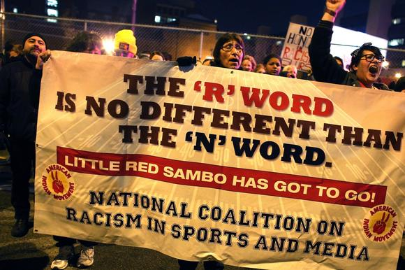 Protest of Washington Redskins