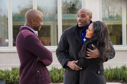 From left, Taye Diggs as Harper, Morris Chestnut as Lance and Monica Calhoun as Mia in a scene from the film.