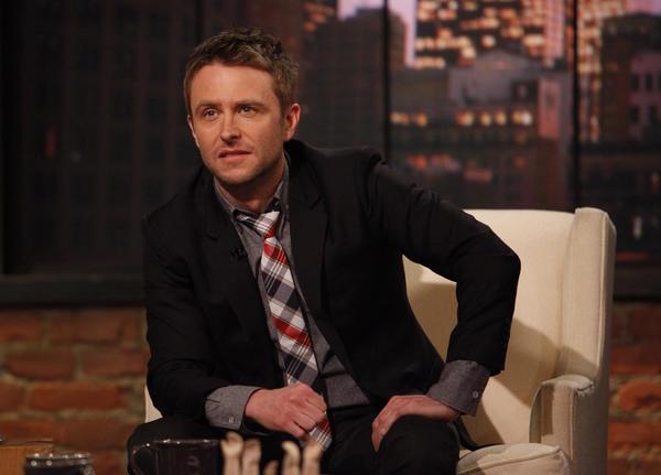 """Host Chris Hardwick of """"Talking Dead."""""""