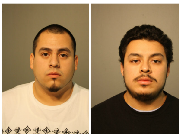 Jose Juarez and Alexander Saucedo, Chicago Police Department handout.