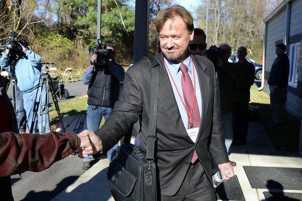 The Rev. Frank Schaefer of Lebanon, Pa., was convicted Monday of breaking United Methodist church law when he officiated at the wedding of his gay son.