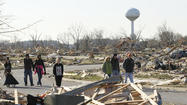 Washington football team picking up pieces after tornado