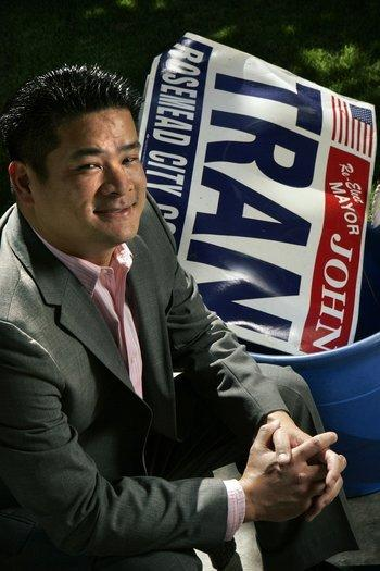 Former Rosemead Mayor John Tran, in a 2009 photo.