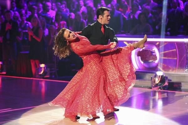 "Can't hold on: Leah Remini and Tony Dovolani were the latest couple ousted from ""Dancing With the Stars."""