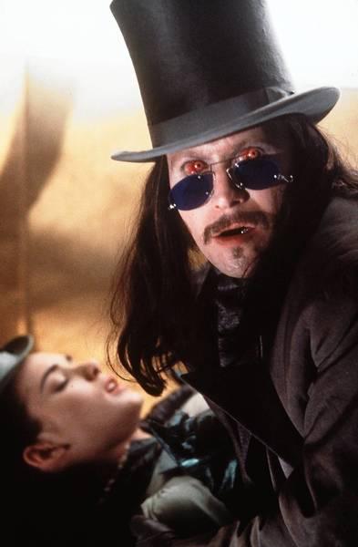 "Winona Ryder and Gary Oldman star in ""Bram Stoker's Dracula."""
