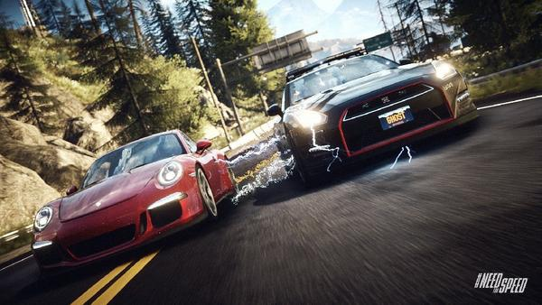 """The study tracks the economic effect and contributions of U.S. industries engaged in the creation and distribution of computer software, books and video games, like the video game """"Need for Speed: Rivals,"""" as pictured above."""