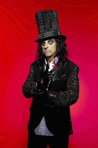 Alice Cooper will perform Nov. 26 at the Segerstrom Center for the Arts.