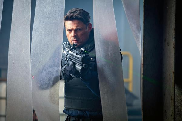 "Karl Urban in Fox's ""Almost Human."""