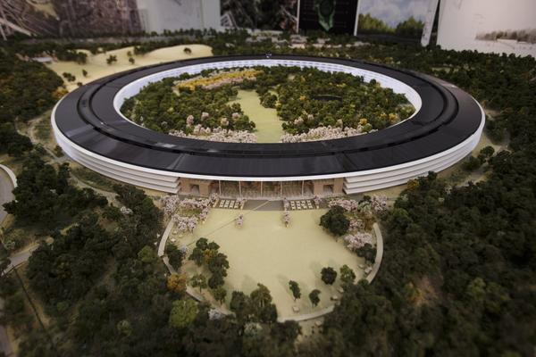 Apple's proposed new campus