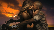 Kim Kardashian, Kanye West get hot and heavy in