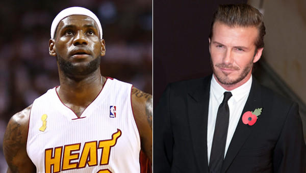 Miami Heat star LeBron James says he is in talks with soccer star David Beckham, right, to bring a Major League Soccer expansion team to South Florida.