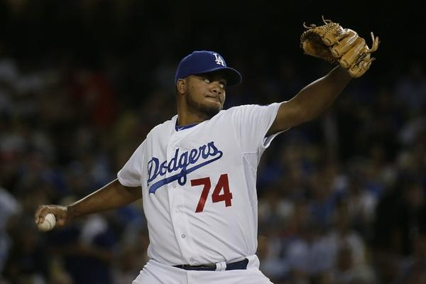 Kenley Jansen was 4-3 with 28 saves and a 1.88 ERA last season.