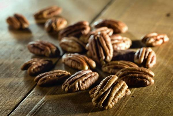 Pecans star in this recipe from Peabody's Dux.