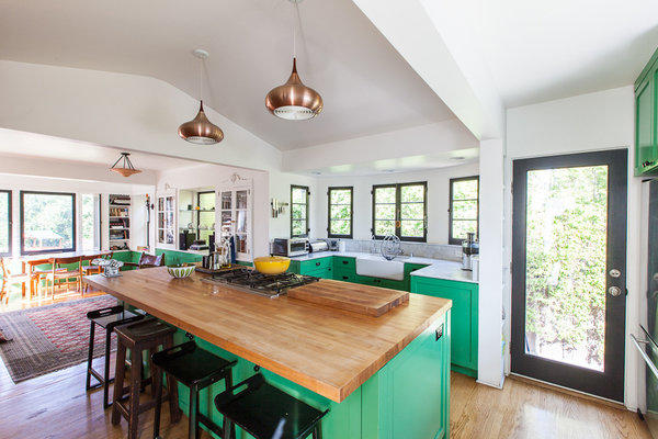 Architect Barbara Bestor Opened Up The Kitchen Of John Benson And Molly  Ou0027Brien By