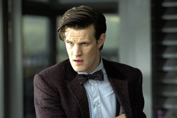 "Matt Smith as ""Doctor Who."""