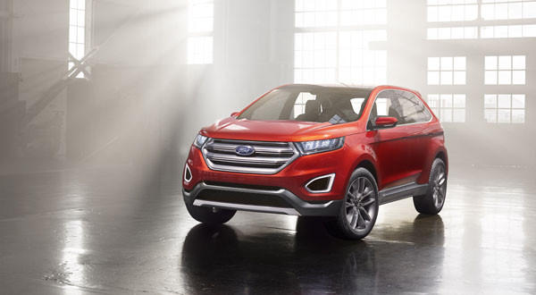 Ford Edge Concept, revealed at Los Angeles Auto Show.