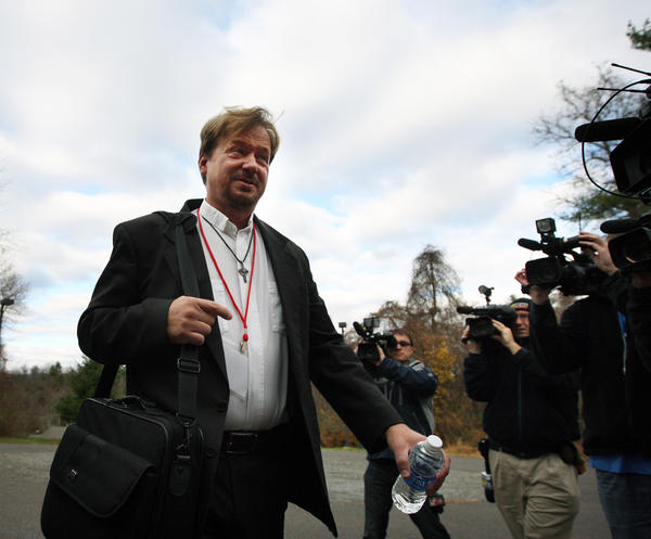 The Rev. Frank Schaefer of Lebanon, Pa., was reprimanded by a Methodist jury for officiating at his son's same-sex wedding.
