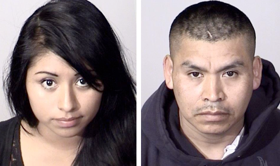 Graciela Vasquez, 23, and Rolando Navarrete Ramirez, 34, were arrested in connection with forcing a 15-year-old girl into prostitution, authorities say.
