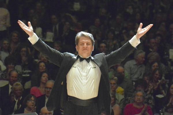 Boston Pops conductor Keith Lockhart.
