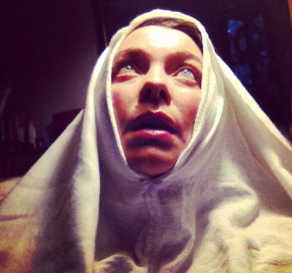 """Coco Blignaut as Teresa of Avila in """"God's Gypsy."""""""