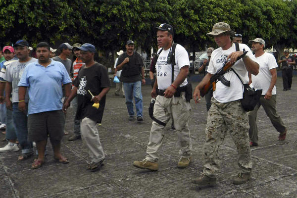 Mexico efforts against drug cartels