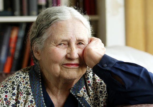 "Doris Lessing, the free-thinking, world-traveling, often-polarizing writer of ""The Golden Notebook"" and dozens of other novels that reflected her own improbable journey across the former British empire, died Sunday. She was 94."
