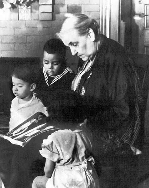 Jane Addams led Hull House, which was built on a simple and profound idea — that young people living with the poor could be a catalyst for neighborhood improvement.