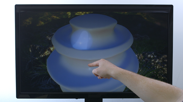 Leap Motion on Wednesday released Free Form, an app that lets users create 3-D models using the company's motion-sensor controller.