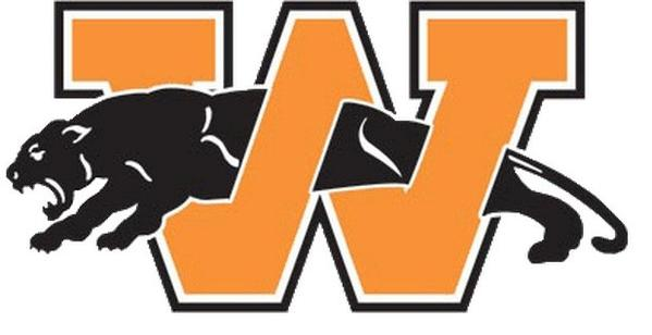 The Washington High School logo, which the Bears will wear Sunday before and after the game at St. Louis.