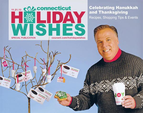 Holiday Wishes 2013: Holiday Cheer at Dunkin Donuts