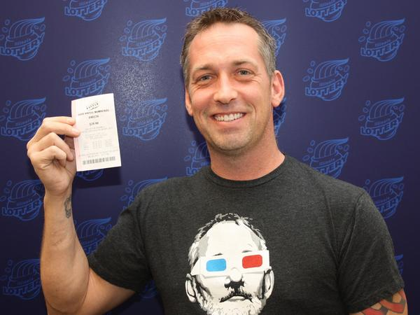 Halloween Treat for Wood Dale Firefighter- Wins $1million Illinois Lottery Prize