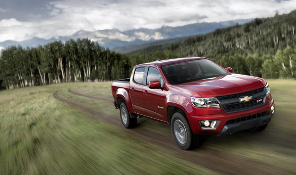 all new 2015 chevrolet colorado targets mid size pickup trucks. Black Bedroom Furniture Sets. Home Design Ideas