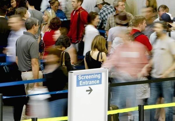 A study by a travel industry group predicts holiday-like congestion on a weekly basis at major airports across the country.