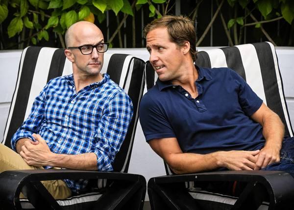 Writer-directors Jim Rash and Nat Faxon.
