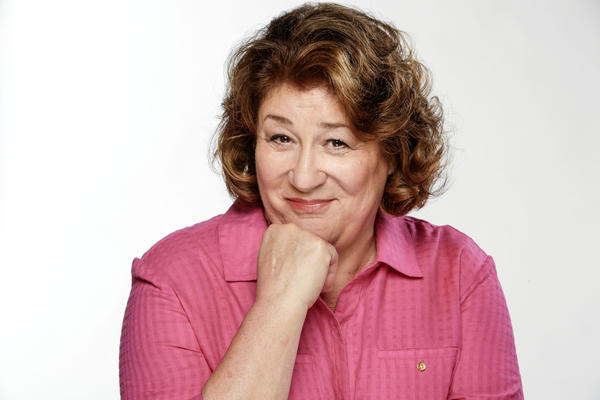 """Margo Martindale, on the set of her new CBS comedy, """"The Millers,"""" is also getting award attention for her role in """"August: Osage County."""