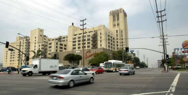 The 1.8-million-square-foot Sears property on Olympic Boulevard in Boyle Heights dates to the 1920s.