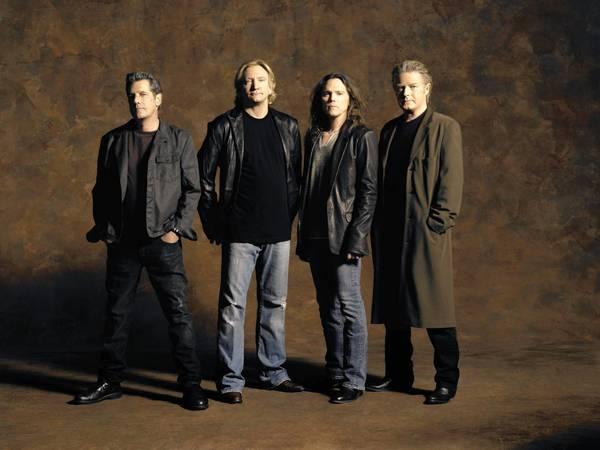 The Eagles now: Glenn Frey, Joe Walsh, Timothy B. Schmit and Don Henley.