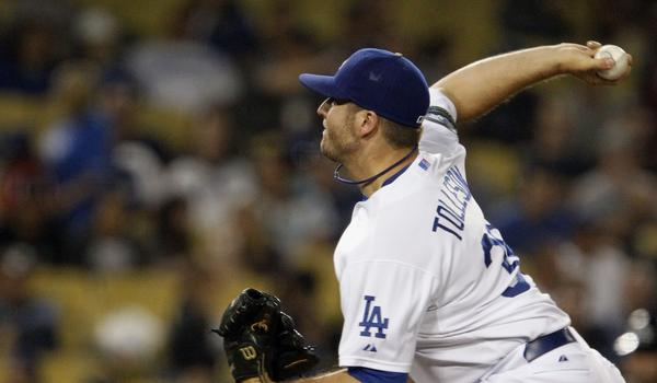 Shawn Tolleson was the Dodgers' 2011 minor league pitcher of the year after going 7-2 with 25 saves and a 1.17 ERA.