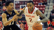 Shy off the court, Terps' Roddy Peters is getting ready for his close-up