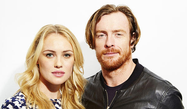 "Hannah New and Toby Stephens star in in the upcoming TV series ""Black Sails,"" a prequel to the ""Treasure Island"" story."