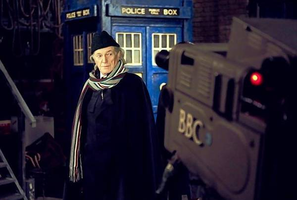 """An Adventure in Space and Time,"" about the First Doctor, William Hartnell (David Bradley), is also a history of the television show."