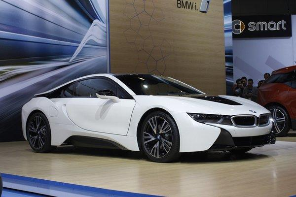 The 2014 BMW i8 will go on sale in the middle of next year and start at around $137,000.