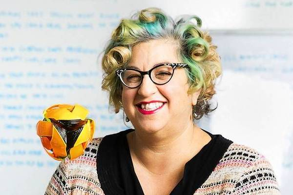 "Jenji Kohan, in the writers' room of her Los Angeles office, is the creator of Netflix's original series ""Orange Is the New Black."""