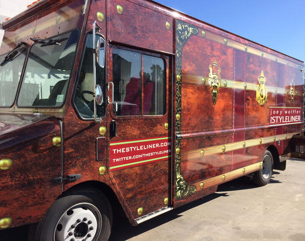 The Styleliner will travel between Venice and Santa Monica selling accessories.
